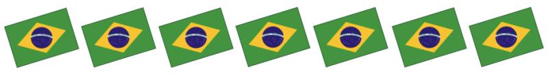 brazil flags banner